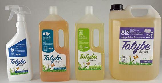 Promozione sui detergenti casa Talybe di Libero Mondo