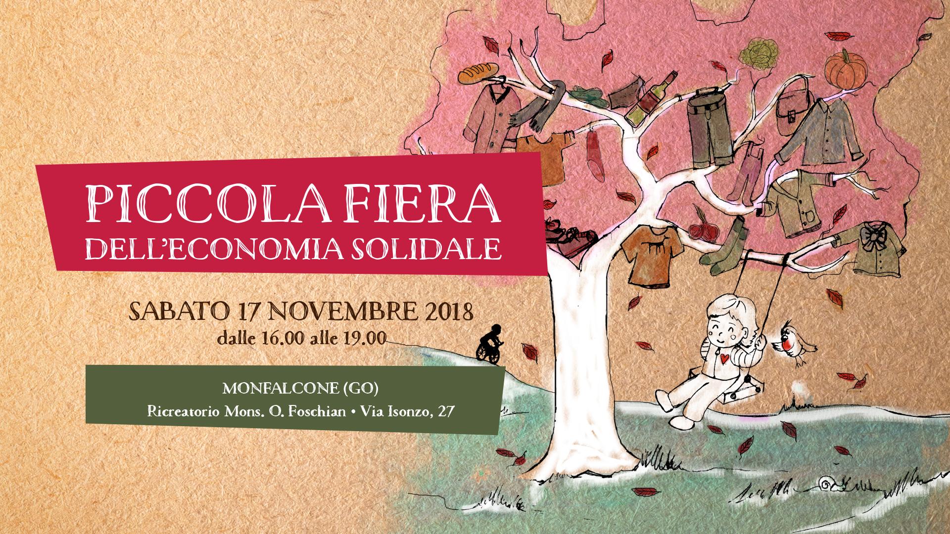 fiera dell'economia solidale 17 novembre