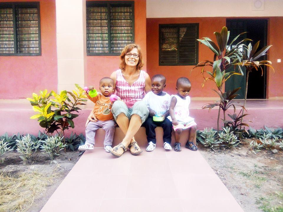 Una donna in Costa d'Avorio
