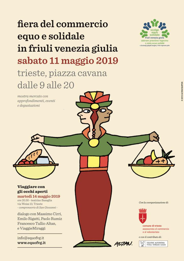 Fiera del Commercio Squo e Solidale del Friuli Venezia Giulia 11 maggio 2019