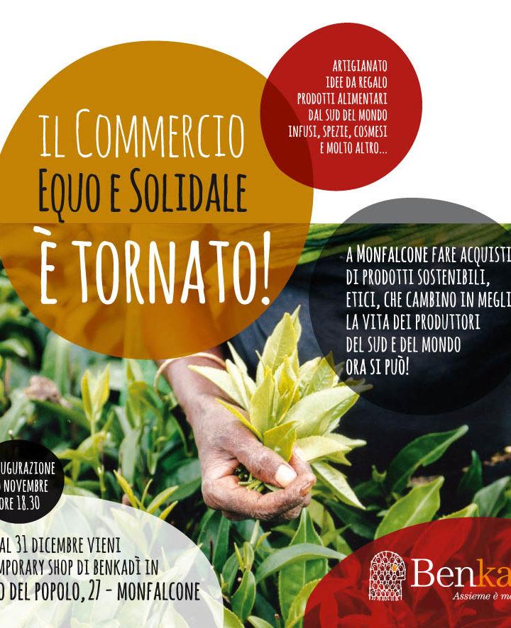 Il commercio equo e solidale torna a Monfalcone!