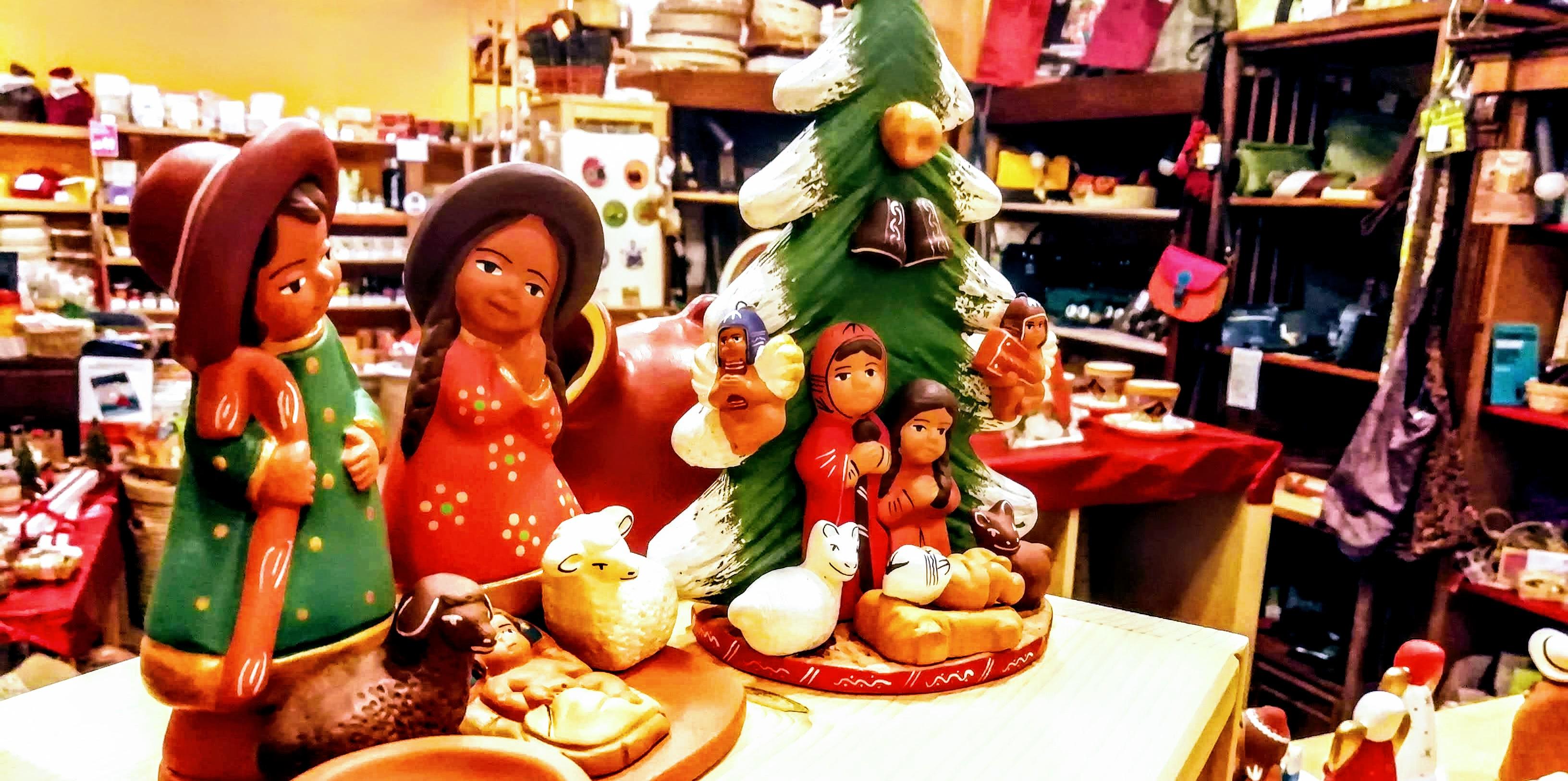 Natale nelle botteghe