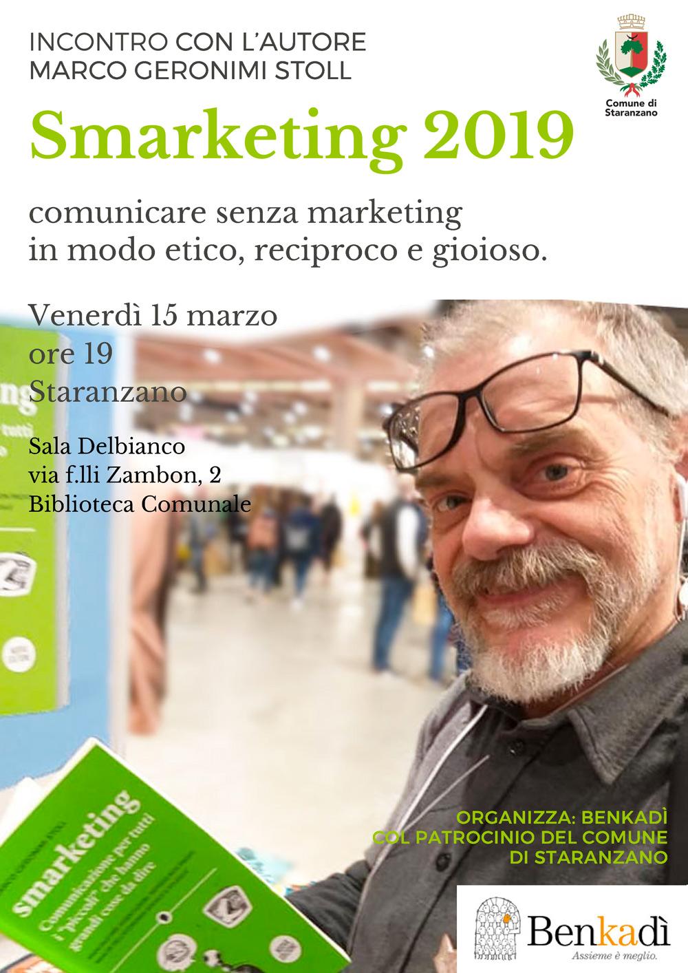 Smarketing nuova edizione locandina Staranzano