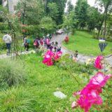 Parco di San Giovanni con gli studenti di EurHope 2019 in visita