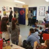 Visita a radio Fragola della VD della scuola primaria Duca D'Aosta di Monfalcone