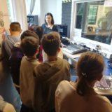 Radio Fragola, gli studenti in visita durante il progetto EurHope On Air 2019