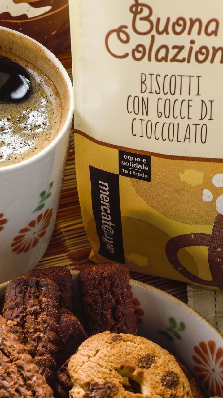Promozione Caffè e Biscotti Equosolidali
